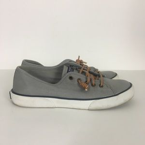 Sperry Top Sider Grey Slip On Shoes